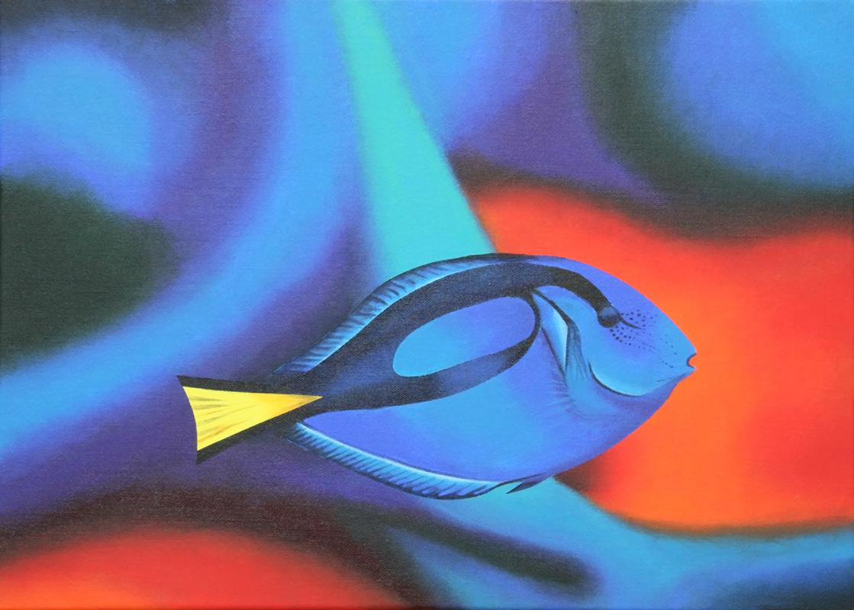 Picot bleu(vendu)