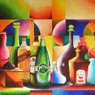 Nature morte aux alcools(vendu)