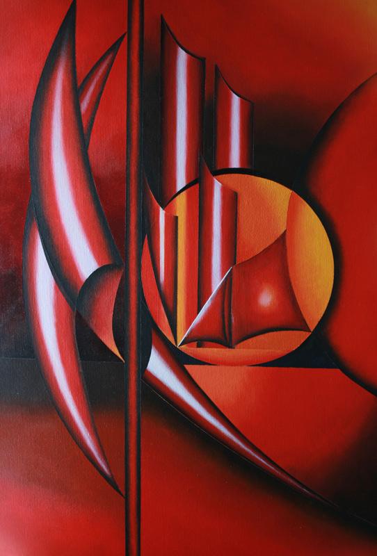 les voiles rouges(vendu)