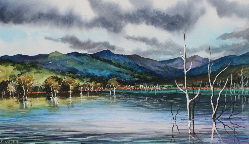Forêt noyée (vendu)