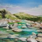rivière blanche(vendu)