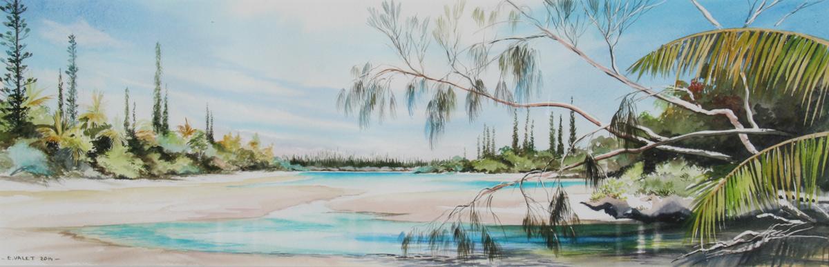 Rivière de sable(vendu)